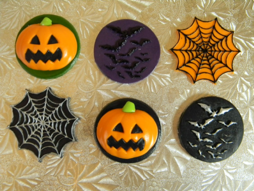 12 Halloween Cupcake Toppers